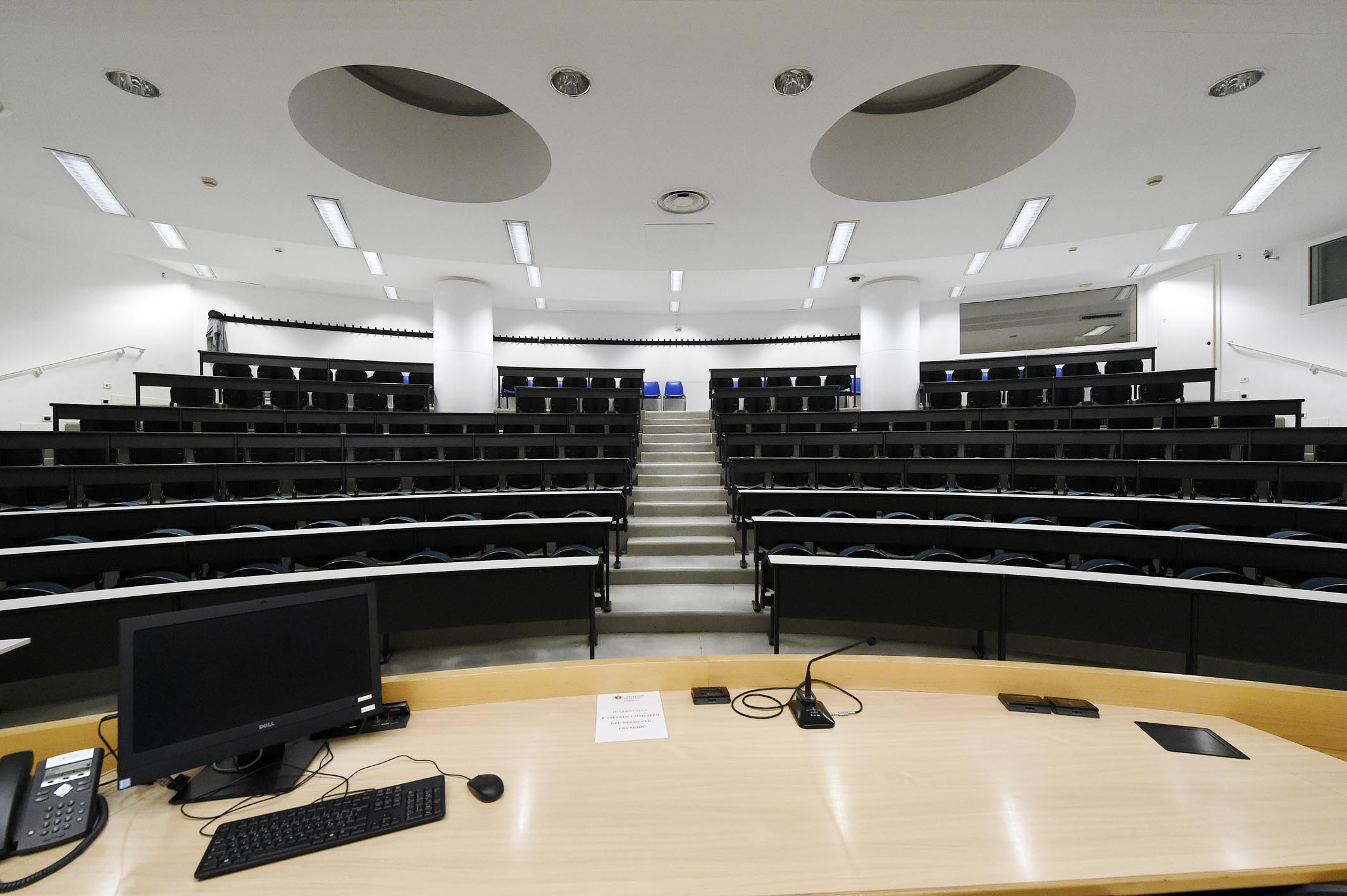 PALAZZO DI GIURISPRUDENZA / Aula A e aula B FOTO DI ALESSIO COSER